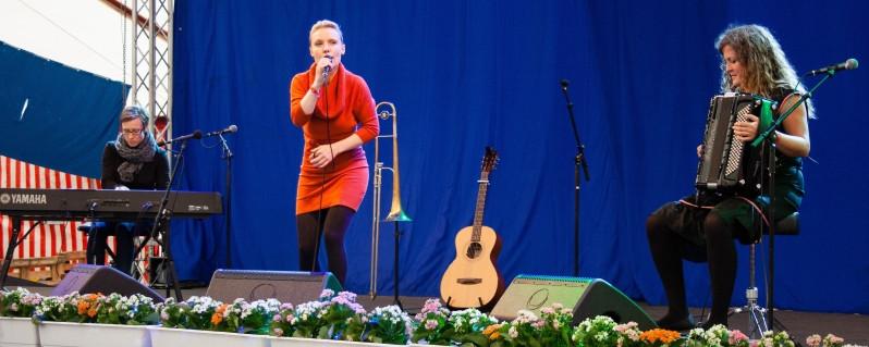 Danske sange i nye klæder i Slagelse med Erik Sommer og Zenobia